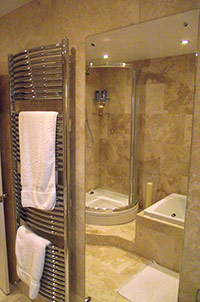 Bathroom with Shower Cubicle.